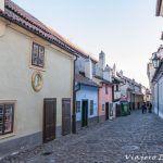Callejón del Oro. La calle más bella de Praga.