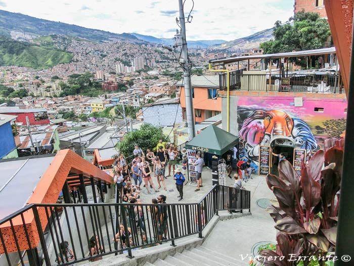 comuna 13 en Medellín