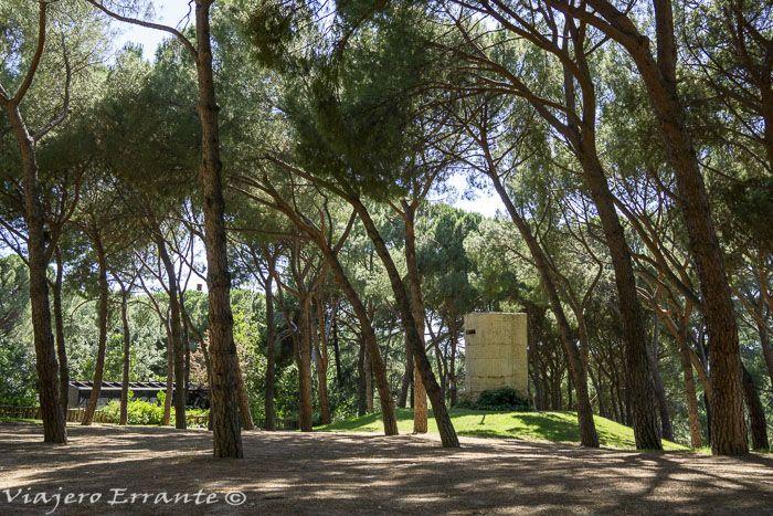 parque del oeste en madrid