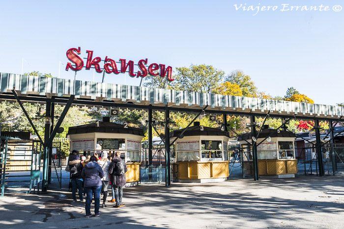 museo Skansen estocolmo