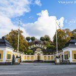 Skansen, un museo al aire libre en Estocolmo.