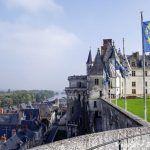 Castillo de Amboise en el Valle del Loira.