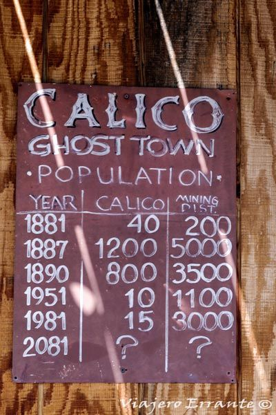 calico pueblo fantasma