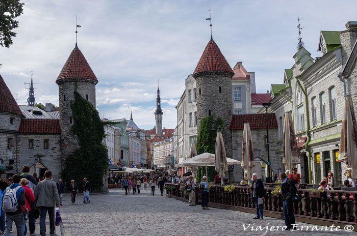 ciudades medievales viajero errante